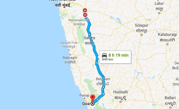 Best Route for Pune to Goa Road Trip